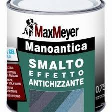 Smalto manoantica base grigio 750 ml  gr. grossa
