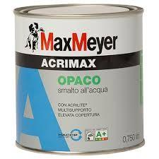 ACRIMAX NERO OPACO RAL 9005 Lt 2,5