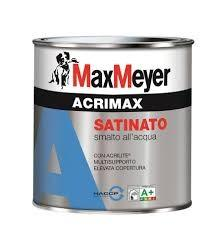 Smalto acrimax satinato 2,25 lt base neutra